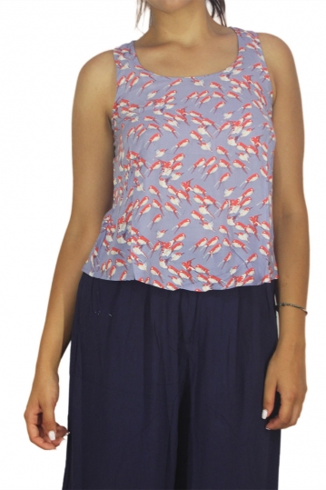 Mismash Cravo tank top light blue