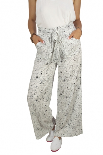 Soft Rebels Lara wide leg pants with pockets