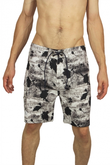 Wesc board shorts Dorian white-black