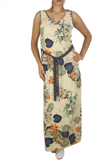 Smash Tomasa maxi side split dress
