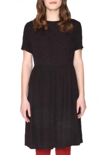 Pepaloves Jade short sleeve dress black