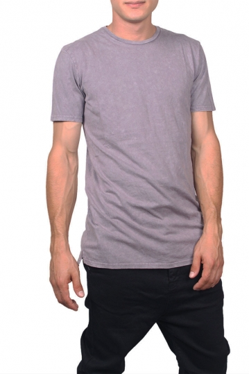 Globe longline t-shirt Goodstock faded eggplant