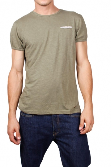 Superior Vintage pocket t-shirt olive marl