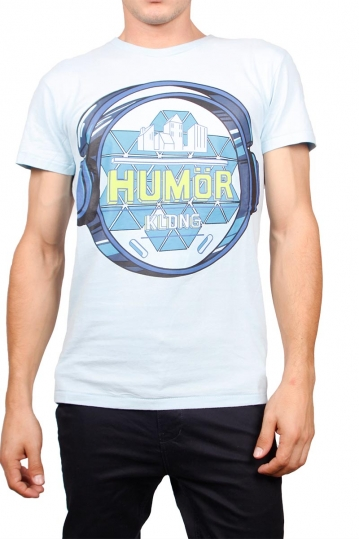 Humor t-shirt Jakato crystal blue