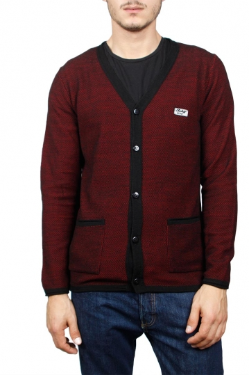 3PLAY men's cardigan red
