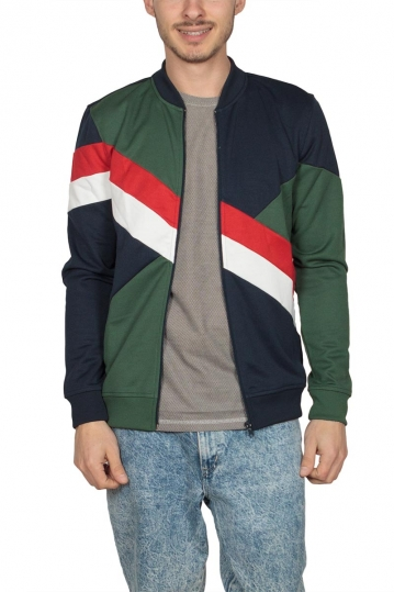 Anerkjendt zip up sweatshirt Eamon multi
