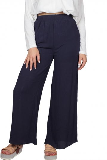 Soft Rebels Jackie wide leg pants night sky