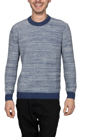 Thinking Mu jumper blue melange