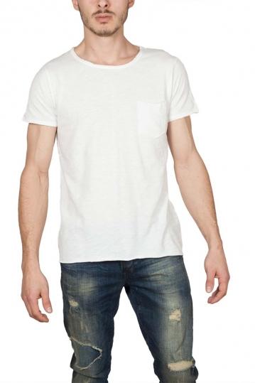LTB Mizikaz men's pocket t-shirt off white