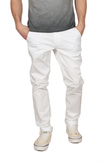 Ryujee Alban chino pants white