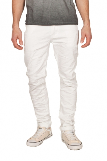Ryujee 5-pocket pants white