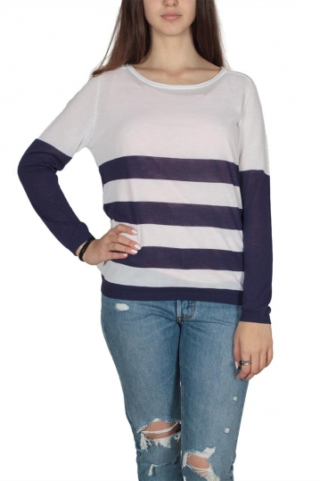 Ryujee Patricia viscose striped knit top