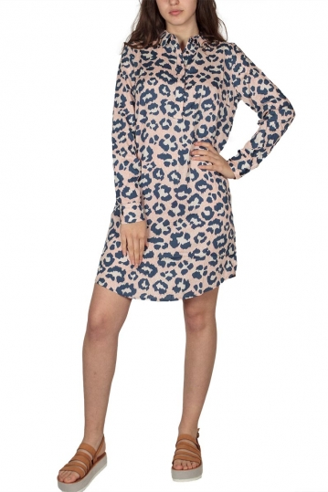 Soft Rebels Ice animal print tunic dress