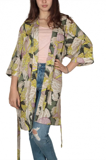 Soft Rebels Esta all over print kimono