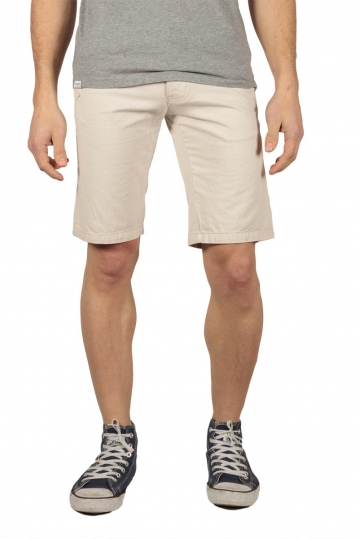 Bellfield men's chino shorts beige
