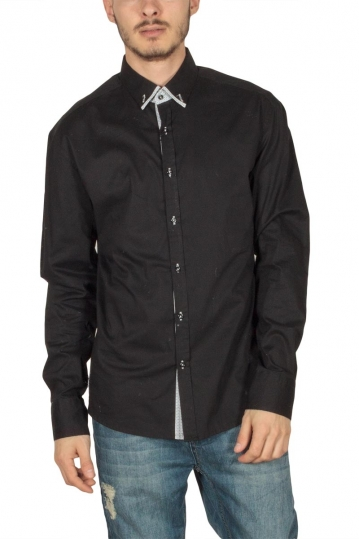 Bades Shirts men's shirt in black