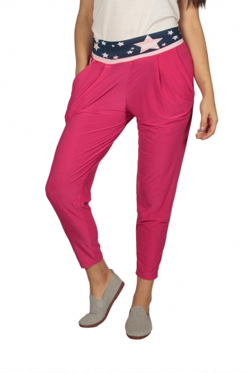 Women's pants fuchsia