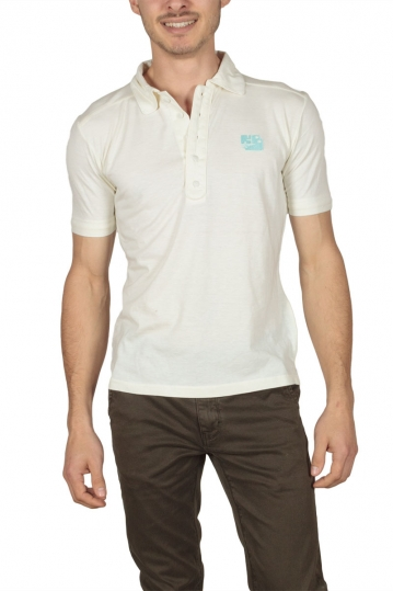 Kanabeach men's polo shirt cream