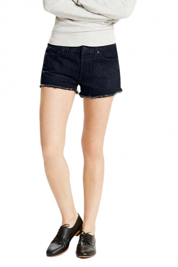 Women's LEVI'S 501® denim shorts dark pacific