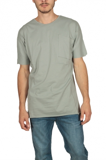 Lotus Eaters men's pocket T-shirt light green