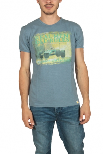 Superior Vintage men's t-shirt indigo
