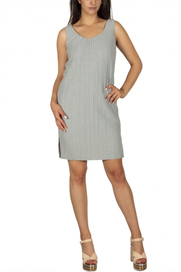 Soft Rebels Lea mini dress plisse light grey