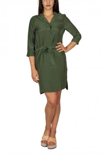 Soft Rebels Me tunic dress olive