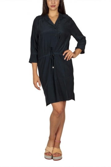 Soft Rebels Me tunic dress navy