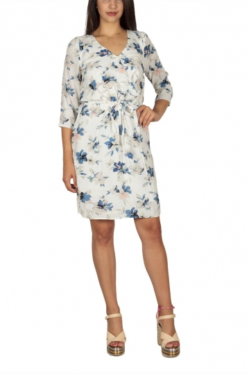 Soft Rebels Water wrap dress