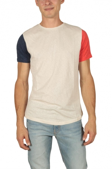French Kick FK men's t-shirt ecru