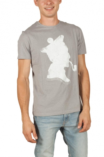 French Kick men's t-shirt Gyroscope grey