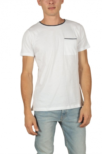 French Kick Line men's t-shirt white