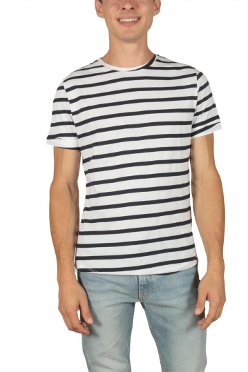French Kick men's t-shirt Stripes navy