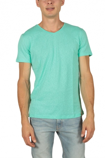 French Kick men's t-shirt Vee mint