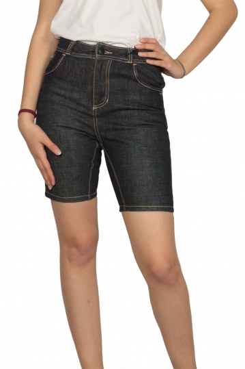 Insight women's denim shorts dark blue