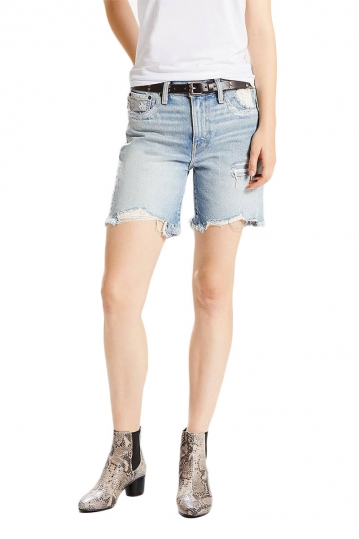 Women's LEVI'S 505C™ shorts out of the blue