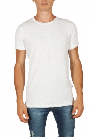 Minimum Delta men's slub t-shirt white