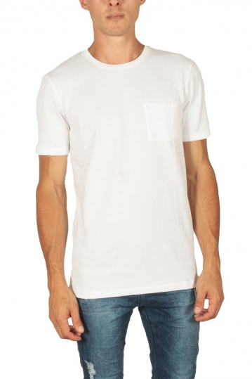 Minimum Nowa men's pocket t-shirt white