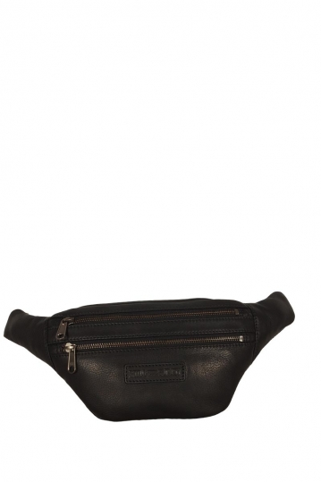 Hill Burry leather bum bag in black
