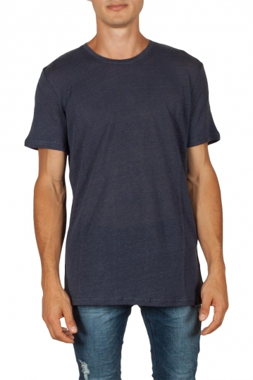 Minimum Declan men's t-shirt dark navy melange