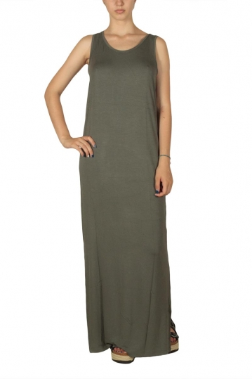 Minimum Felizia maxi dress castor green