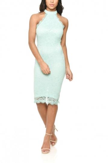 AX Paris lace dress green