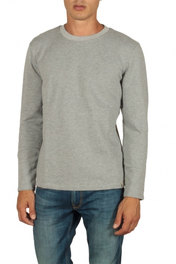 French Kick Raw sweatshirt grey melange