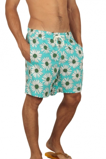 Gerry Nick men's swim shorts floral blue