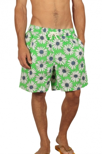 Gerry Nick men's swim shorts floral green