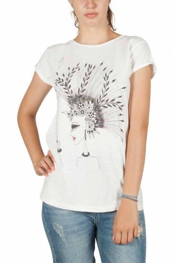 Anjavy boyfit t-shirt Planta