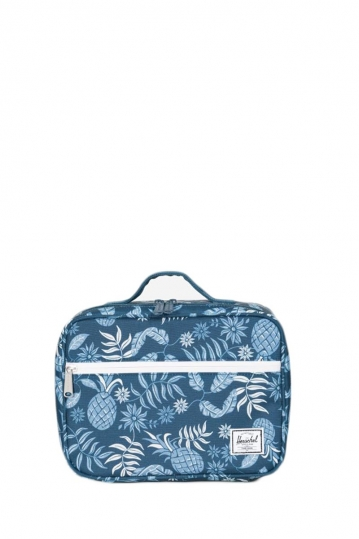 Herschel Supply Co. Pop Quiz lunch box aloha majolica blue