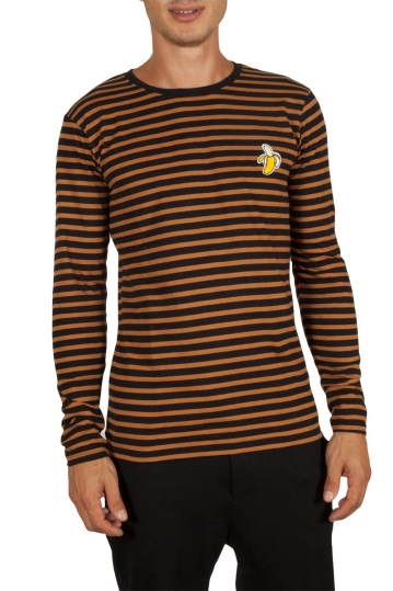 Anerkjendt Metri striped tee mustard-black
