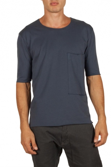 Men's pocket t-shirt blue