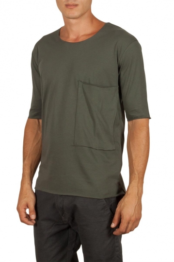 Men's pocket t-shirt khaki